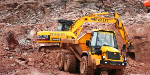 Metcalf Plant Hire Contracting Division Quarrying