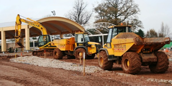 Metcalf Plant Hire Contracting Division Groundworks 2
