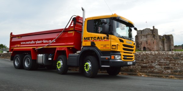 Metcalf Plant Hire Contracting Division New Tipper Truck