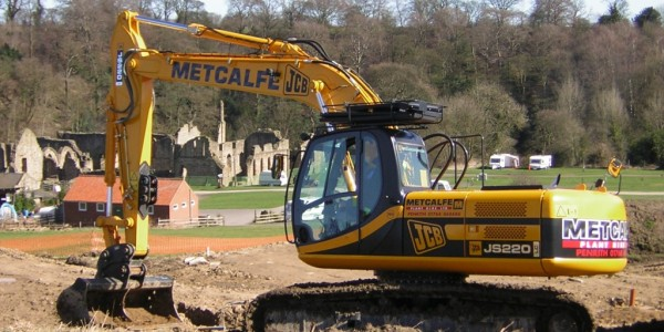 Metcalf Plant Hire Contracting Division JCB Groundworks
