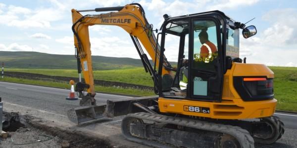 plant hire Mini Excavator on Hire